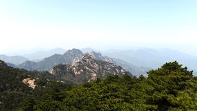 Mount Huangshan. Mountain, the world natural and cultural heritage, the world geological park, one of the top ten scenic spots and historical sites in China Royalty Free Stock Photography