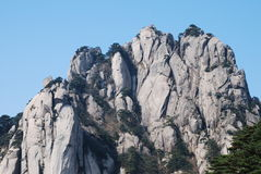 Mount Huangshan scenery Royalty Free Stock Photography