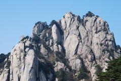 Mount Huangshan scenery. Chinese Mount Huangshan strange stone Royalty Free Stock Photography