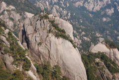 Mount Huangshan scenery. Chinese Mount Huangshan strange stone Stock Photography