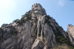 Mount Huangshan scenery Royalty Free Stock Image