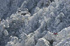 Mount Huangshan snow Stock Photography