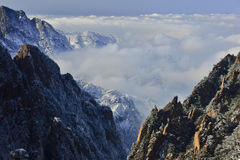 Mount Huangshan snow Royalty Free Stock Image