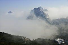 Mount Huangshan snow Royalty Free Stock Image