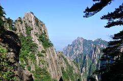 Mount Huangshan Stock Images