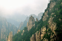 Mount Huangshan Xihai Grand Canyon, incredible chi Royalty Free Stock Photo