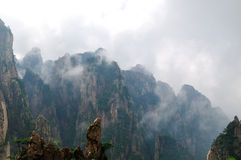 Mount Huangshan Xihai Grand Canyon, incredible chi Stock Image