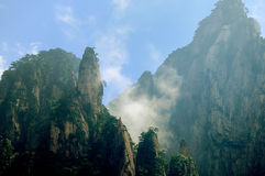 Mount Huangshan Xihai Grand Canyon, incredible china Royalty Free Stock Photography