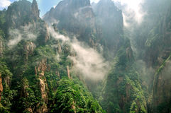Mount Huangshan Xihai Grand Canyon, incredible chi Stock Photos