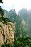 Mount Huangshan Xihai Grand Canyon, incredible china Royalty Free Stock Images