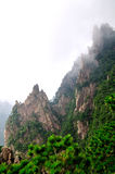 Mount Huangshan Xihai Grand Canyon, incredible chi Royalty Free Stock Photos
