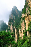 Mount Huangshan Xihai Grand Canyon, incredible china Royalty Free Stock Image