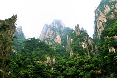 Mount Huangshan Xihai Grand Canyon, incredible china Stock Image