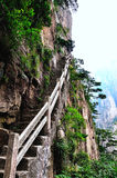 Mount Huangshan Xihai Grand Canyon, incredible china Stock Photography