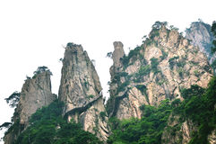 Mount Huangshan Xihai Grand Canyon, incredible china Stock Images