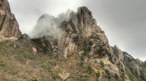 Mount huangshan yellow mountain china Stock Image