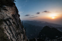 Mount Huashan China stock images