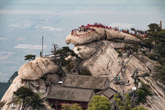 Mount Huashan China Royalty Free Stock Photo