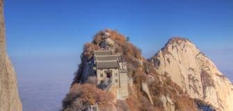 Mount huashan north peak china asia. Mount huashan near xian china asia Royalty Free Stock Images