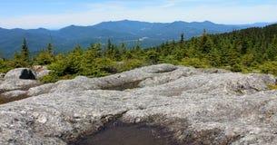 Mount Hunger Summit Vermont stock photo