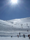 Mount Hutt Ski Fields Stock Image