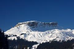 Mount Ifen. In the Austrian Alps Stock Image