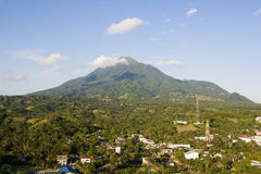 Mount iraya. A view of mount iraya royalty free stock photos