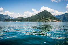 Mount Isola Island, Iseo lake, Brescia, Lombardy, italy Stock Photos