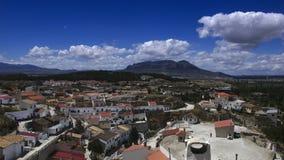 Mount Jabalcon and Benamaurel Stock Image