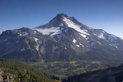 Mount Mt Jefferson Horizontal Cascade Range Oregon Stock Images