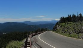 Mount Jefferson scenic view Royalty Free Stock Photo