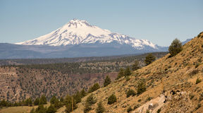 Mount Jefferson Stands Majestic Oregon Cascade Mountain Range Stock Image