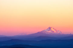 Mount Jefferson Sunset Royalty Free Stock Images