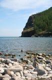 The mount Jima. The Olkhon island on Baikal lake. Royalty Free Stock Photos