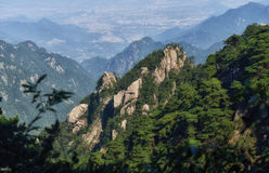 Mount Jiuhua Stock Images