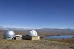 Mount John University Observatory, NZ Stock Image