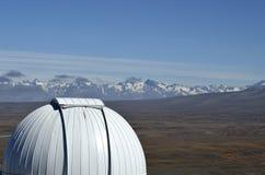 Mount John University Observatory, NZ Royalty Free Stock Photography