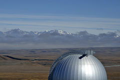 Mount John University Observatory, NZ Royalty Free Stock Image