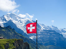 Mount Jungfrau Royalty Free Stock Photos