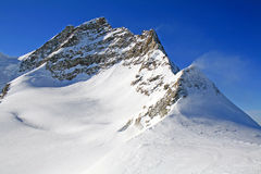 Mount Jungfrau, Switzerland Royalty Free Stock Photos