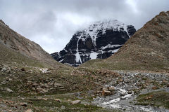 Holy Mount Kailash Royalty Free Stock Image