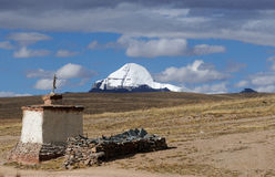 Mount Kailash Tibet 1 Royalty Free Stock Photo