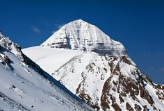 Mount Kailash in Tibet Royalty Free Stock Photo