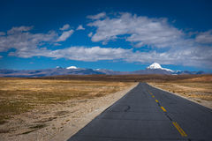 Mount Kailash: Travelling in Tibet Royalty Free Stock Image