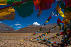 Mount Kailash: Travelling in Tibet Stock Photo