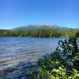 Mount Katahdin. Baxter National Park, Maine Royalty Free Stock Photography