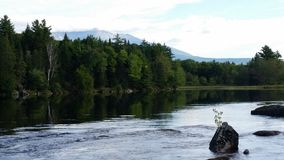 Mount katahdin. Off in the distance Royalty Free Stock Photography