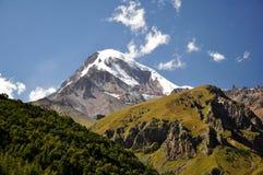Mount Kazbeg Stock Images
