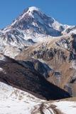 Mount Kazbeg and the Caucasus Royalty Free Stock Photography