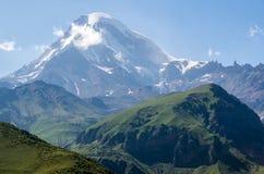 Mount Kazbek Stock Image